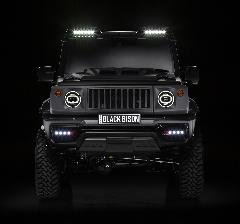 WALD ブラックバイソン フロントバンパースポイラー ABS製