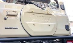 CARSTYLE ジムニーJB64 74 リアゲートカバー