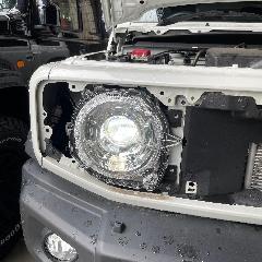 スズキ純正 LEDヘッドライト XC JC 左右セット 中古美品