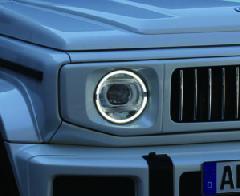 JB64Wジムニー/JB74Wシエラ 純正LEDヘットライト装着車用 イカリングデイライト/ウインカー付きレンズユニット