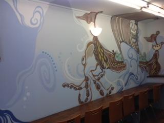 アート壁面塗装