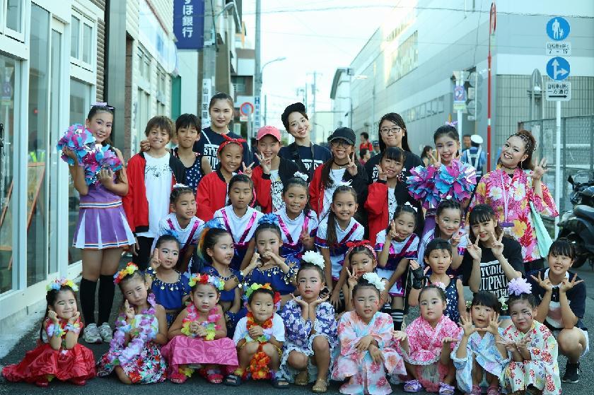 おらほ仙川祭り踊り頑張りまーす