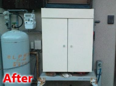 キッチンダストボックス修理