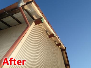 屋根・軒天の張替え
