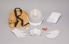 ヘルメット(ルナメット)+防災用品セット