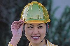 工事用ヘルメット キラメット