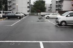 駐車場の舗装工事