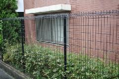 マンションのフェンス取付