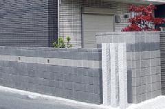 戸建のブロック塀