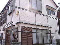 埼玉県川口市 外壁塗装工事 約75万円