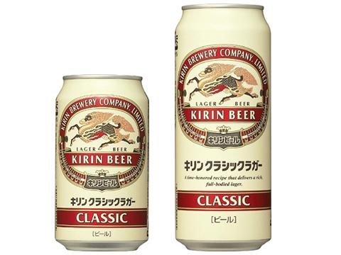 キリンクラッシックラガービール 350×24缶