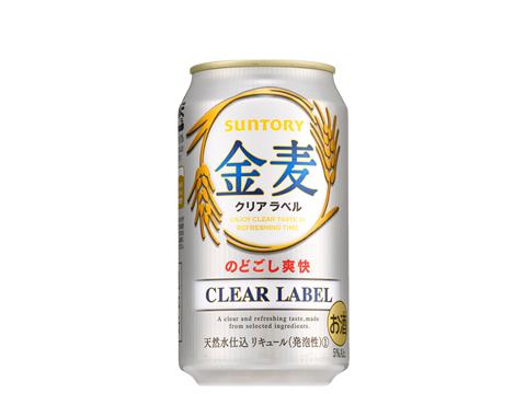 サントリー 金麦 クリアラベル 350ml×24缶