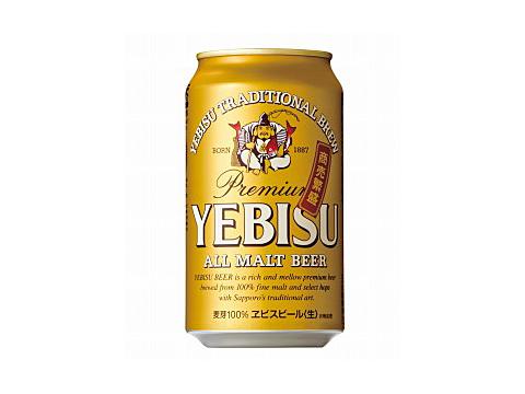 サッポロ エビスビール 350ml×24缶