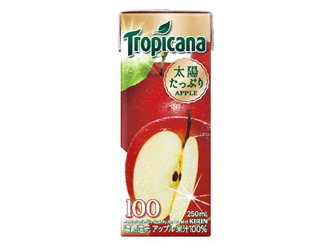 トロピカーナ100% アップル 250ml×24本