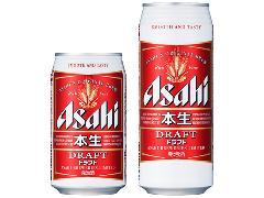 アサヒ 本生ドラフト 350ml×24缶