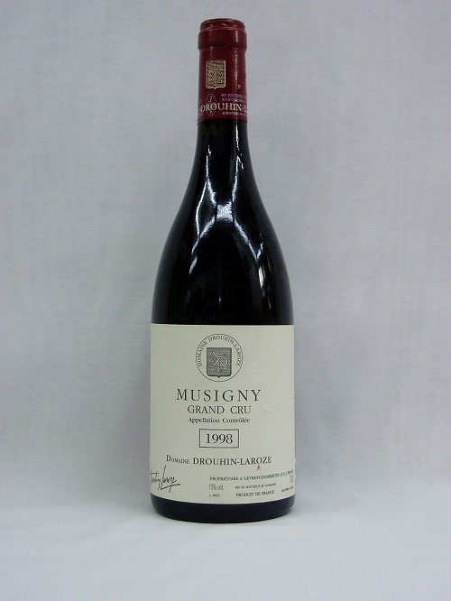 【赤ワイン】ミュズニィ グラン・クリュ 1998