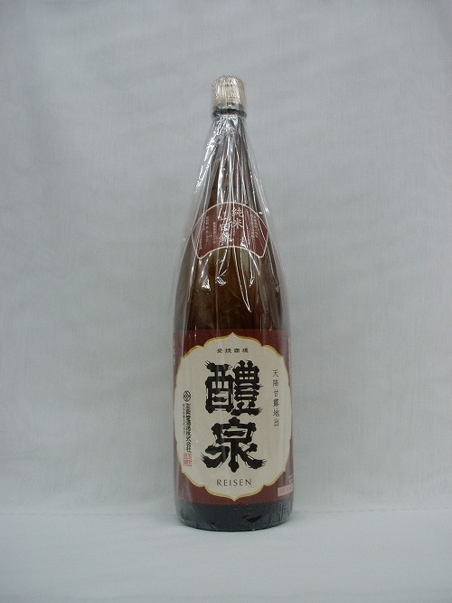 【日本酒】醴泉(れいせん) 純米 山田錦 1.8L