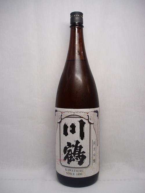 【日本酒】川鶴 純米吟醸 Wisdom 1.8L