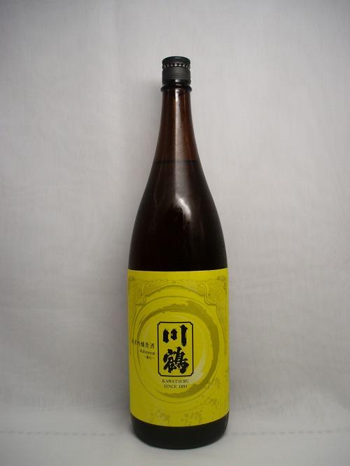 【日本酒】川鶴 純米吟醸 原酒 Advance 1.8L