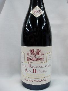 【赤ワイン】ヴォーヌ・ロマネ プルミエ クリュ オー ブリュレ 2005