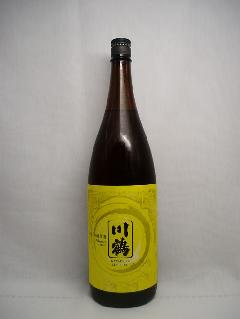 【日本酒】川鶴 純米吟醸 原酒  1.8L