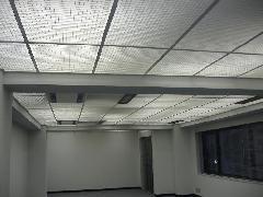 天井格子のクリーニング