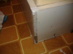 防水パンの補修
