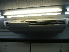 大型 天吊り エアコン クリーニング