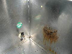 台所 ステンレスの汚れ