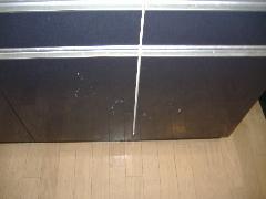 システムキッチン収納ドアクリーニング