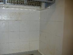 キッチンタイル クリーニング