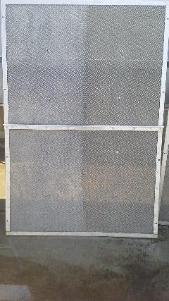 大型フィルター洗浄