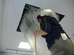 業務用天井カセット型エアコンクリーニング