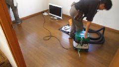 タイルカーペット 敷き工事