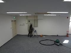埼玉 オフィス工事引渡クリーニング