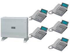 ナカヨ ビジネスホン標準型(電話機34台まで)