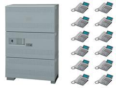 ナカヨ ビジネスホン増設架付標準型(電話機88台まで)