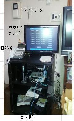 神奈川県鎌倉市     電話、テレビドアホン、監視カメラ設置工事