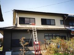 住宅の一部を建て替え