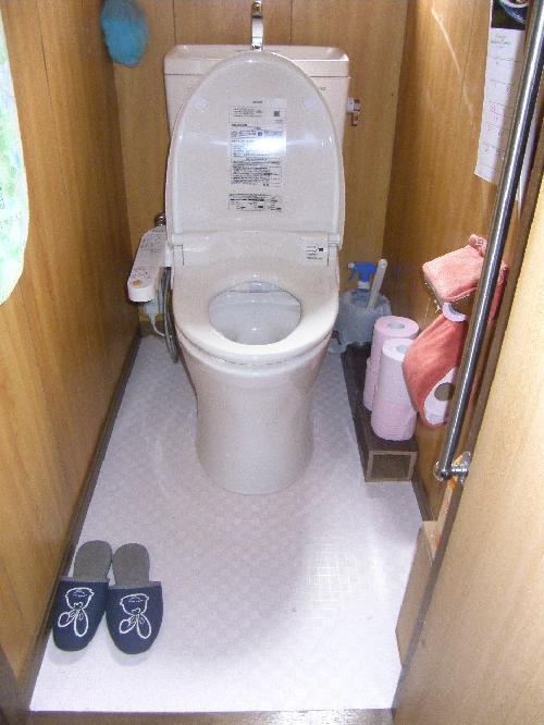 トイレリフォーム・及び床工事