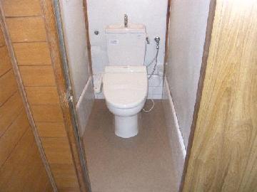 汲み取り式トイレ交換工事