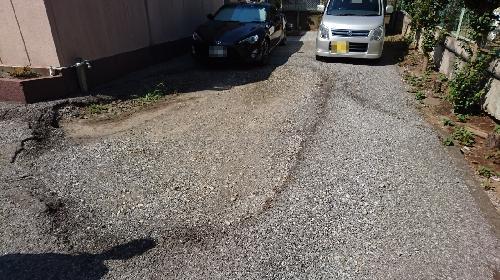 駐車場陥没部の復旧工事費用