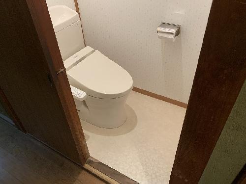 流山市トイレ改修工事