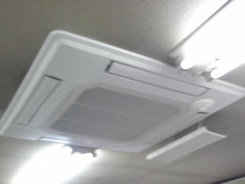 エアコン交換工事 神奈川県横浜市  事務所
