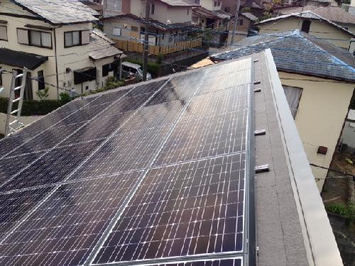 シャープ太陽光発電システム工事
