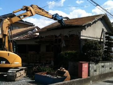 一戸建て解体工事