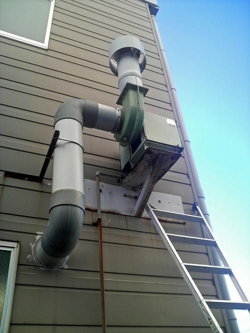 排風機の修理