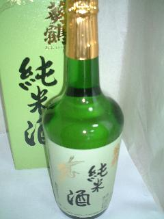 葵鶴 純米酒 720ML