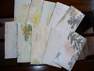 襖紙で作った封筒