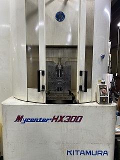 KITAMURA Mycenter-HX300 横型マシニングセンタ